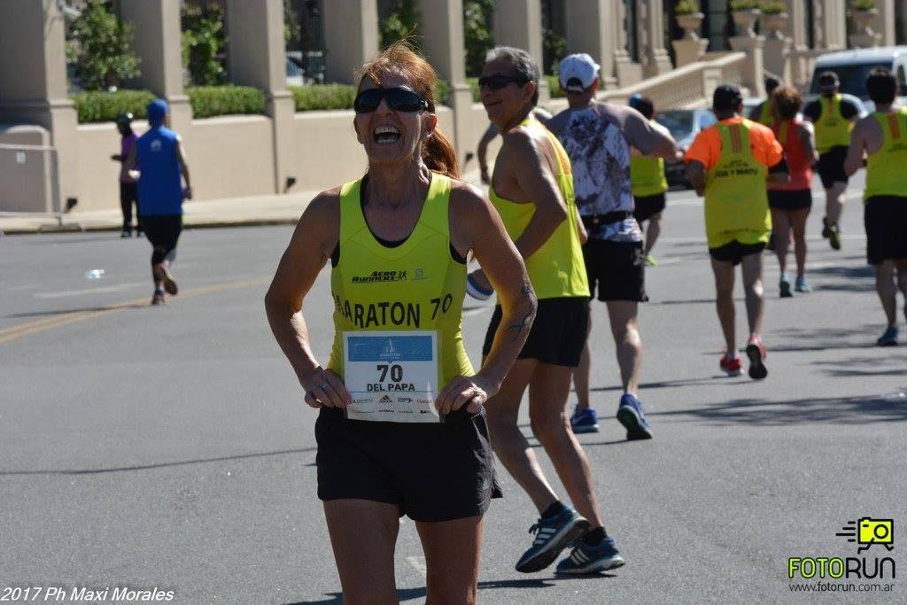 Stella Maris del Papa - maraton de buenos aires